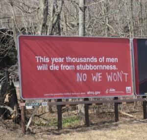 stubborn guys