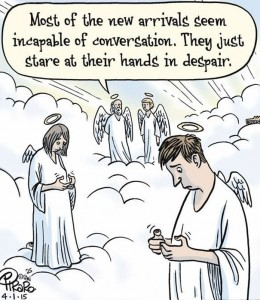 angels with smart phones