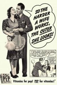 hard working wife