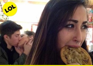 cookie instead of kiss