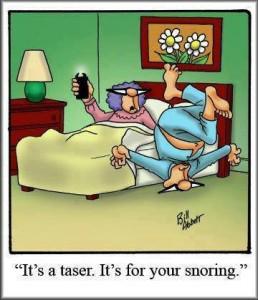 snore-tazer