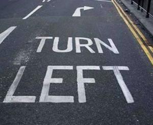 leftist right turn